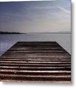 Wooden Bridge Metal Print by Joana Kruse