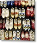 Wooden Shoes Metal Print by Ed Rooney