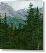 Woodland Overlook Metal Print by Vikki Wicks