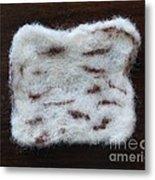 Wool Matzah Metal Print by Heather Hennick