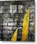 Workers Built Roads Metal Print