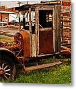 Workhorse Metal Print