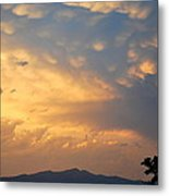 Working Up A Storm Metal Print