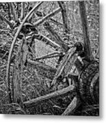 Working Wheels Metal Print