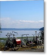 Workout On The Go  2 Metal Print