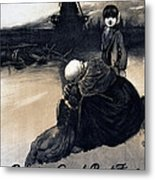 World War I, Poster Showing A Mother Metal Print by Everett