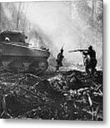 World War II: Bougainville Metal Print