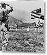 World War II, Brigadier General E.b Metal Print by Everett