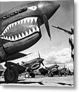 World War II: China, 1943 Metal Print by Granger