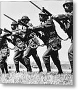 World War II: Training Metal Print
