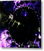 Wormhole Beyond . Square . S4a.s10 Metal Print