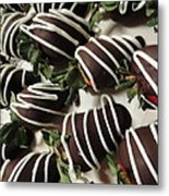Wrapped In Chocolate Metal Print