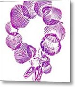Wreath Metal Print by Sara Koenig King