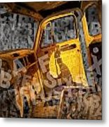Wreck On The Information Highway Metal Print