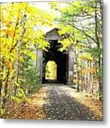 Wrights Covered Bridge Metal Print