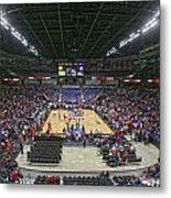 Wsu Basketball 2012 Arena Metal Print