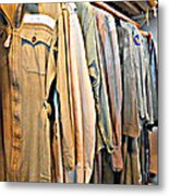 Wwii Flight Suits Metal Print