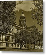 Wyoming Capitol Metal Print
