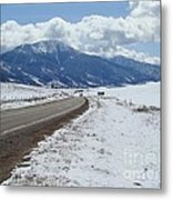 Wyoming Mountains Metal Print