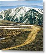 Wyoming Road Metal Print