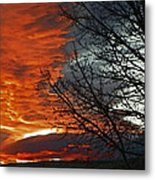 Wyoming Sunrise 2 Metal Print