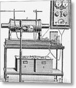 X-ray Machine Metal Print