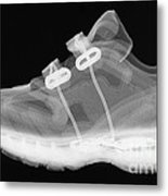 X-ray Of Childs Shoe Metal Print
