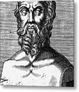 Xenophon (434?-?355 B.c.) Metal Print