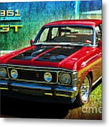 Xw Falcon 351gt Metal Print