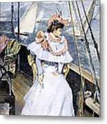 Yachting Costume, 1894 Metal Print