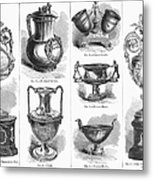 Yachting Trophies, 1871 Metal Print