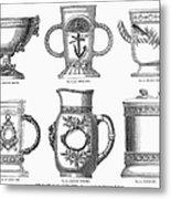 Yachting Trophy, 1880 Metal Print