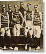Yale Basketball Team, 1901 Metal Print by Granger