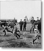 Yale: Football Practice Metal Print