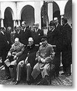 Yalta Conference, 1945 Metal Print