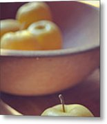 Yellow Apples Metal Print
