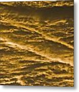 Yellow Clouds Metal Print