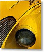 Yellow - D001178 Metal Print