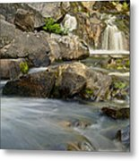 Yellow Dog Falls 4246 Metal Print by Michael Peychich