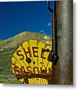 Yellow Is For Shell Metal Print