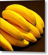 Yellow Ripe Bananas Metal Print