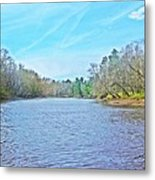 Yellow River 12 Metal Print