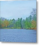 Yellow River  13 Metal Print