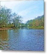 Yellow River 17 Metal Print