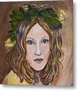 Yellow Rose I I Metal Print