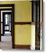 Yellow  Metal Print by Tammy Cantrell