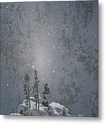 Yellowstone National Park, Winter View Metal Print