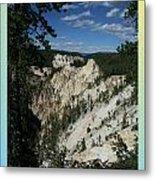 Yellowstone Np 007 Metal Print