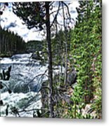 Yellowstone River II Metal Print