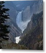Yellowstone Splendour Metal Print